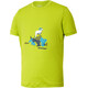 Ziener Cludd Tee Juniors lime green.sea